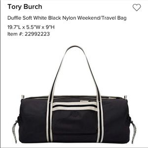 Tory Sport small duffle bag